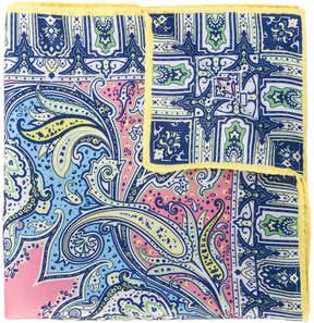 Etro small paisley printed scarf