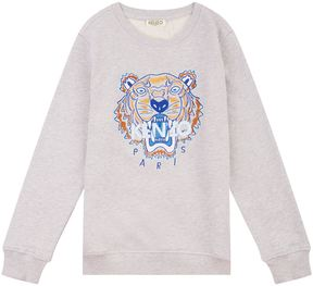 Kenzo Icon Tiger Long-Sleeve Sweatshirt
