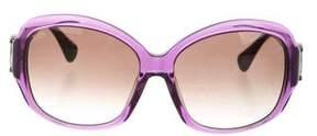 Tod's Oversize Logo Sunglasses