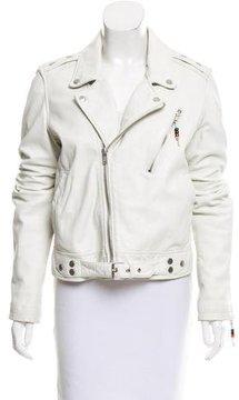 BLK DNM Leather Moto Jacket