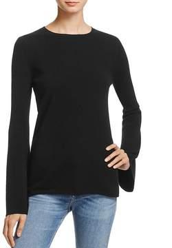 Aqua Cashmere Bell-Sleeve Crewneck Sweater - 100% Exclusive