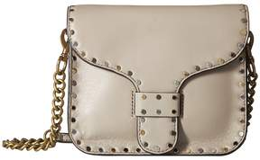 Rebecca Minkoff Midnighter Mini Messenger Handbags - TAUPE - STYLE