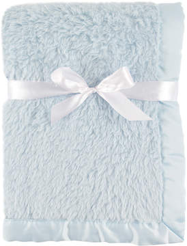 Hudson Baby Powder Blue Sherpa Fleece Blanket