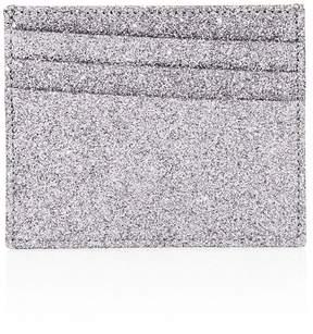 Maison Margiela Men's Natural Glitter Leather Card Case