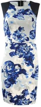 BCBGeneration Women's Sleeveless Floral Sheath Dress