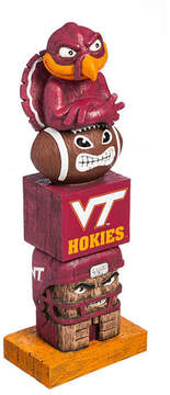 Evergreen Virginia Tech Hokies Tiki Totem