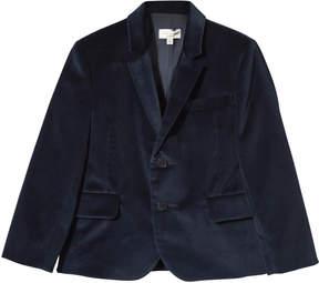 Paul Smith Petrol Blue Velvet Suit Jacket