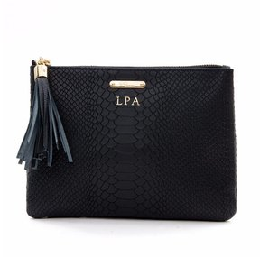 Gigi Embossed Python Leather All in One Bag