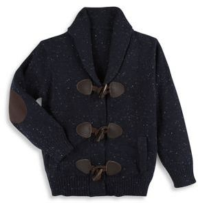 Andy & Evan Toddler's & Little Boy's Slub Toggle Cotton Cardigan