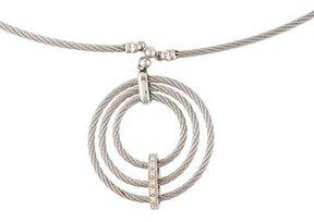 Charriol Celtique Diamond Pendant Necklace