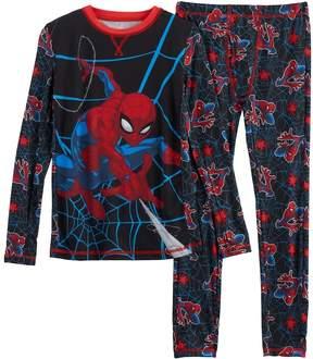 Cuddl Duds Boys 4-18 Marvel Spider-Man Base Layer Set