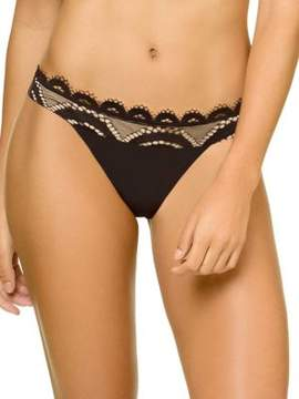 Pilyq Lace Banded Bikini Bottom