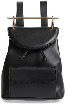 M2Malletier Mini Calfskin Leather Backpack