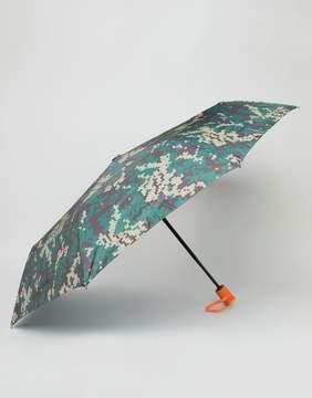 Pull&Bear Umbrella In Travel Case In Camo