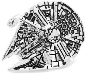 Cufflinks Inc. Men's star Wars 3D Millennium Falcon Lapel Pin