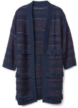 Gap Fringe Duster Sweater