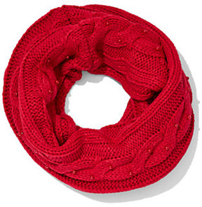New York & Co. Faux-Pearl Infinity Scarf