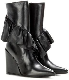 J.W.Anderson Ruffle leather ankle boot