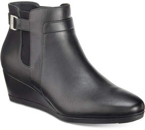 Giani Bernini Cecie Wedge Ankle Booties, Created for Macy's Women's Shoes