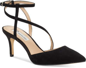 INC International Concepts I.n.c. Women's Lenii Pointed Toe Pumps, Created for Macy's Women's Shoes