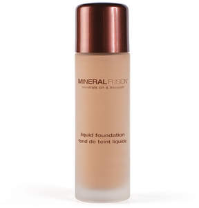 Mineral Fusion Warm 2 Liquid Foundation by 1oz Makeup)