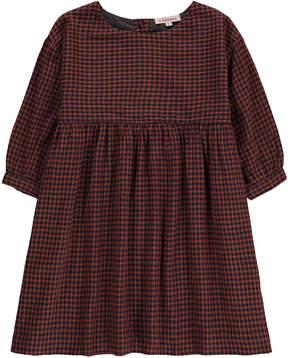 Caramel Belvoir Small Checked Dress