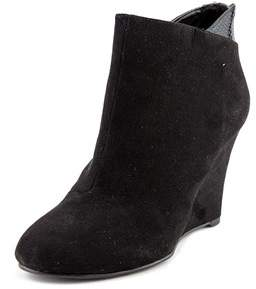 Thalia Sodi Lidiaa Women Open Toe Synthetic Black Wedge Heel.