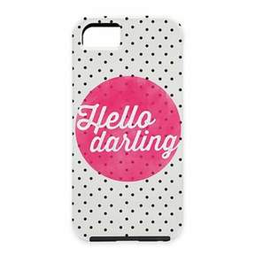 Deny Designs Allyson Johnson Hello Darling Polka Dot Case for iPhone® 5 and 5S