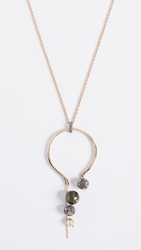 Alexis Bittar Arc Pendant Necklace