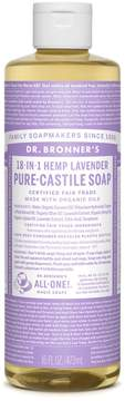 Dr. Bronner's Lavender Castile Liquid Soap by 16floz Liquid Soap)