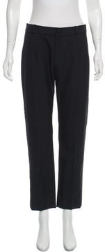 Bouchra Jarrar High-Rise Straight-Leg Pants w/ Tags