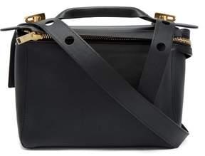 Sophie Hulme Bolt Leather Shoulder Bag - Womens - Black