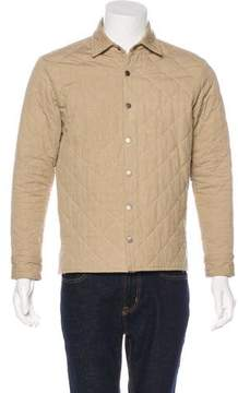 Simon Miller Quilted Snap-Front Jacket