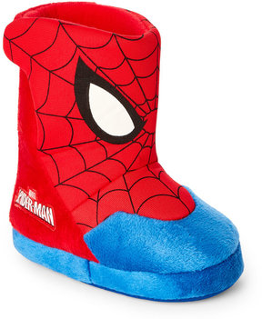 Disney Kids) Spiderman Slipper Boots