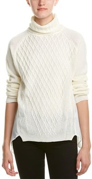 Central Park West Turtleneck Wool-blend Sweater.