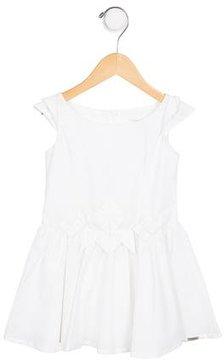 Junior Gaultier Girls' A-Line Short Sleeve Dress
