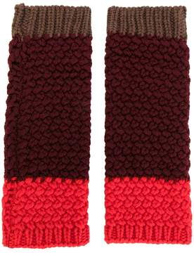 Etro knitted gloves