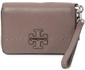 Tory Burch McGraw Bi-Fold Wallet- Silver Maple - ONE COLOR - STYLE
