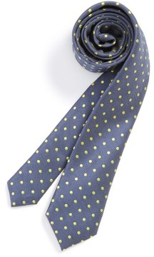 Nordstrom Boy's Dot Cotton & Silk Tie