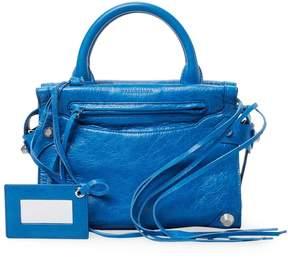 Balenciaga Women's Small Leather Square Satchel