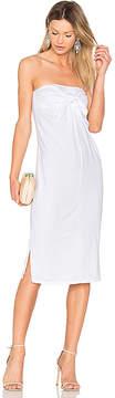 Bobi Tie Front Dress