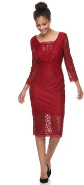Candies Candie's Juniors' Candie's® Lace Column Dress
