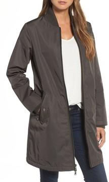 Caslon Women's Calson Long Bomber Jacket