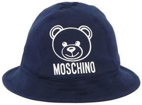 Moschino Heavy Cotton Jersey Bucket Hat
