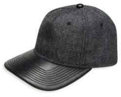Gents Luxe Victor Flat Brim Baseball Cap