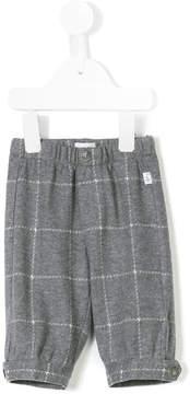 Il Gufo windowpane check trousers