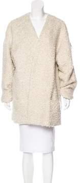 Creatures of the Wind Textured Wool & Alpaca-Blend Coat