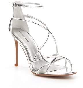 Gianni Bini Talisia Tubular Mirrored Dress Sandals