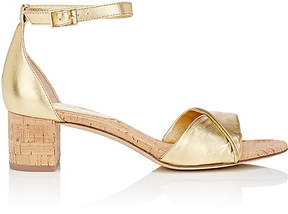 Diane von Furstenberg WOMEN'S FLORENCE LEATHER SANDALS