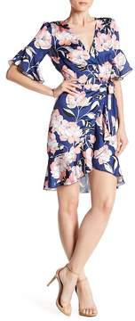 Alexia Admor Ruffle Wrap Dress